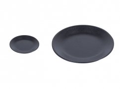 Set piatti Limoges Art Nero